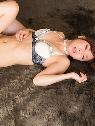 Leggy Japanese hottie Mio Yoshida lets this guy eagerly fuck her feet