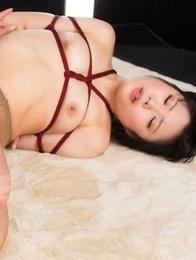 Pantyhose-wearing babe Yui Kawagoe gets fucked by a pantyhose fetishist
