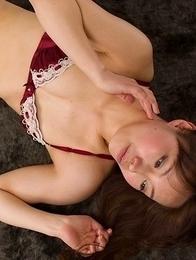 Japanese fetishist Yukari Toudou gets her sexy knee-high boots fucked hard