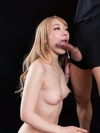 Airi Mashiro Gives A Sloppy Seconds Handjob