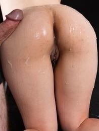 Yuka Shirayuki Butt Bukkake and Cum Rub