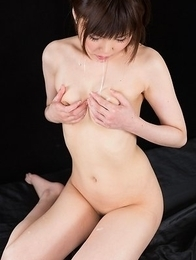 Karen Kosaka Sucks Cock with Thick Cum