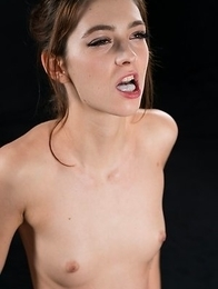 Tera Link Covers A Bunch of Guys Dicks with Cum from Her Mouth
