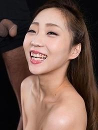 Juri Kisaragi Strokes with Cum
