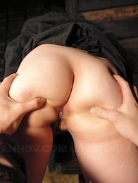 Nasty Mai Shimizu sucks a cock while rubbing
