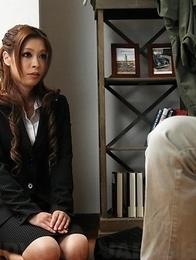 Yurika has hairy dark pussy licked and fucked