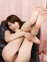 Miku Sachi shows hot ass in panties and nude