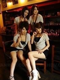 Anna K, Haruka S, Hinata H, Kana S are sexy