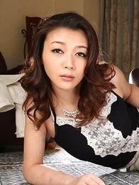 Minako Uchida reveals nasty ass and big tits