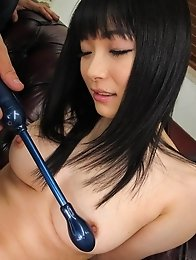 Hina Maeda Asian has juicy crack aroused to the max with sex toys