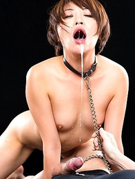 Sexy Mai Miori cant wait to have her mouth cunt stuffed with cock!