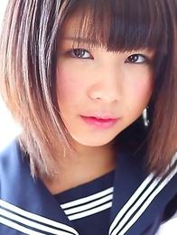 Japanese Schoolgirl Panty Fetish? Meet 18 y/o Minami!