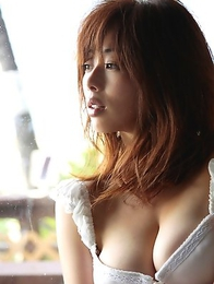 Waka Inoue shows big hooters in kinkiest lingerie she has