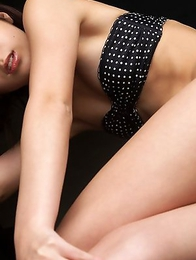 Miu Nakamura in lingerie only knows to expose her curves